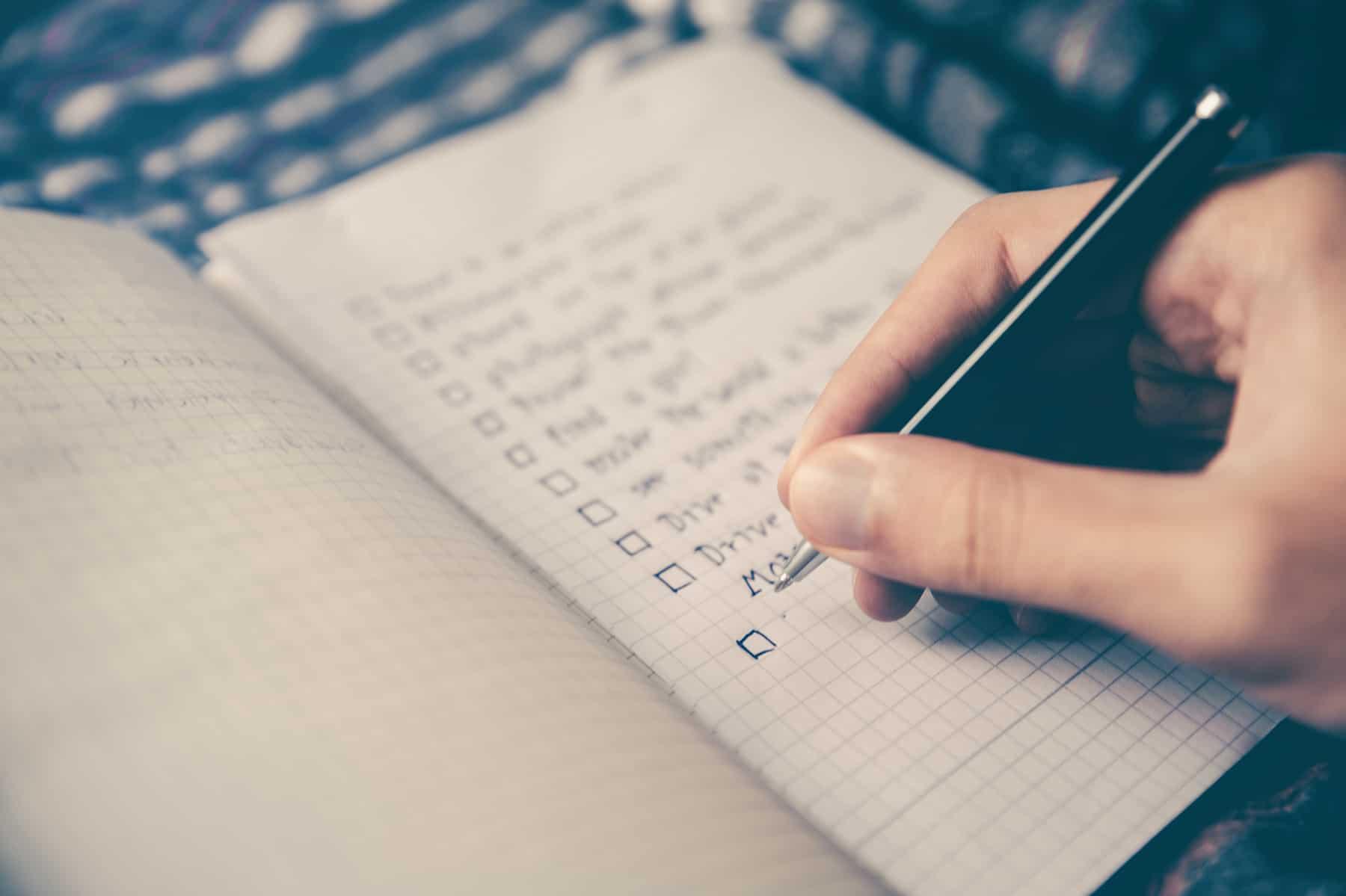 Checklist of Health Coach job requirements
