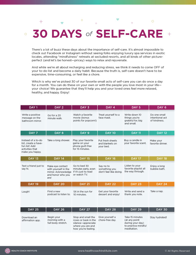 30 day self